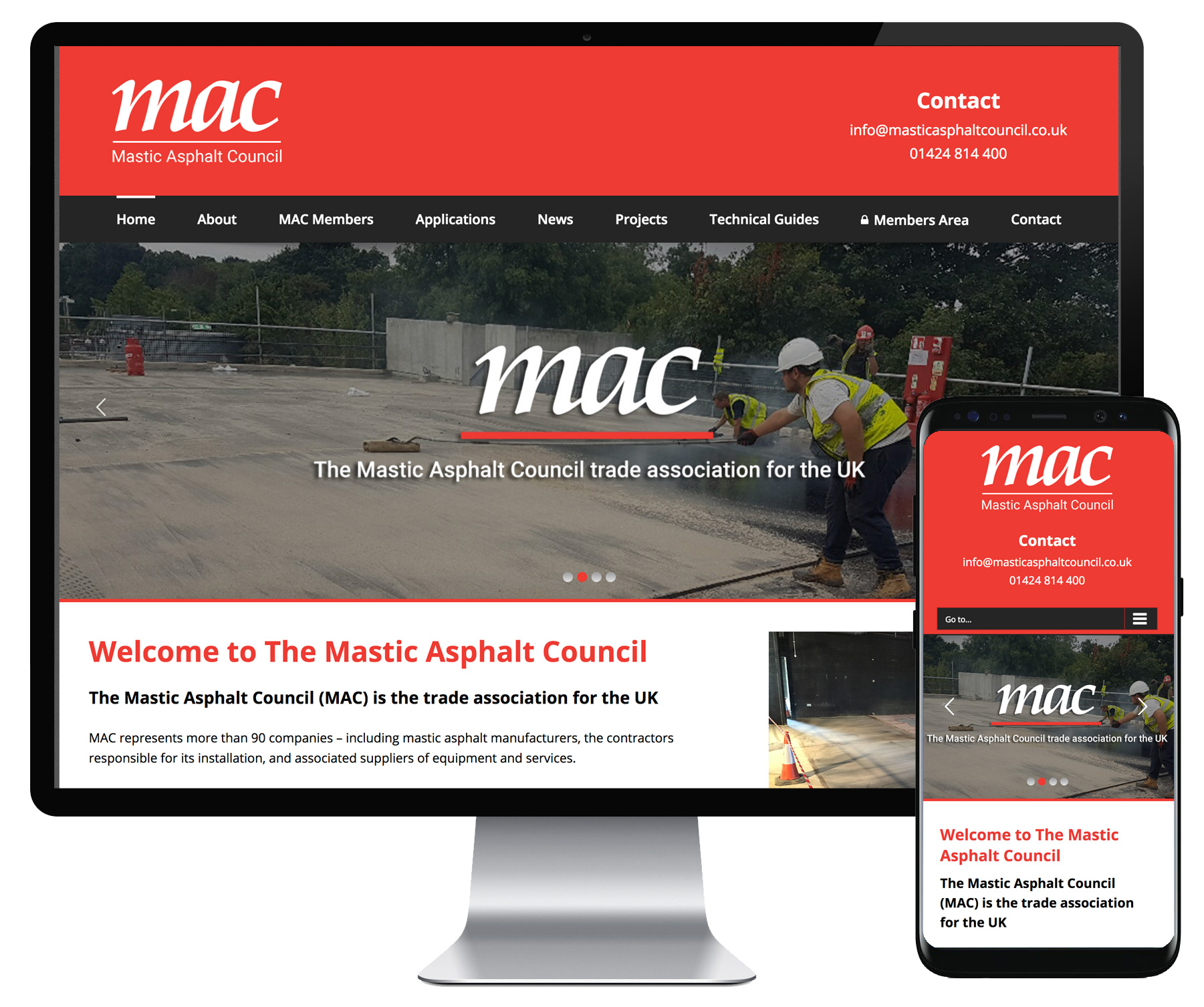 Mastic Asphalt Council website