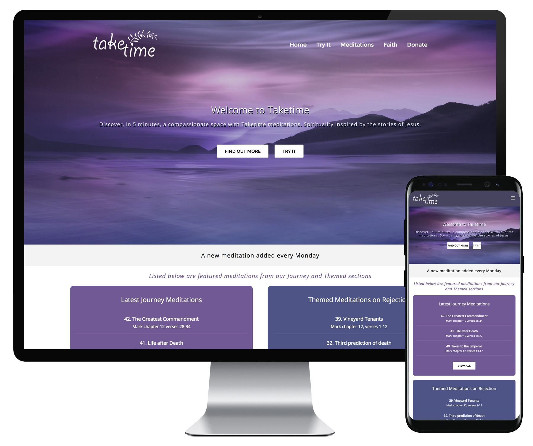 TakeTime website