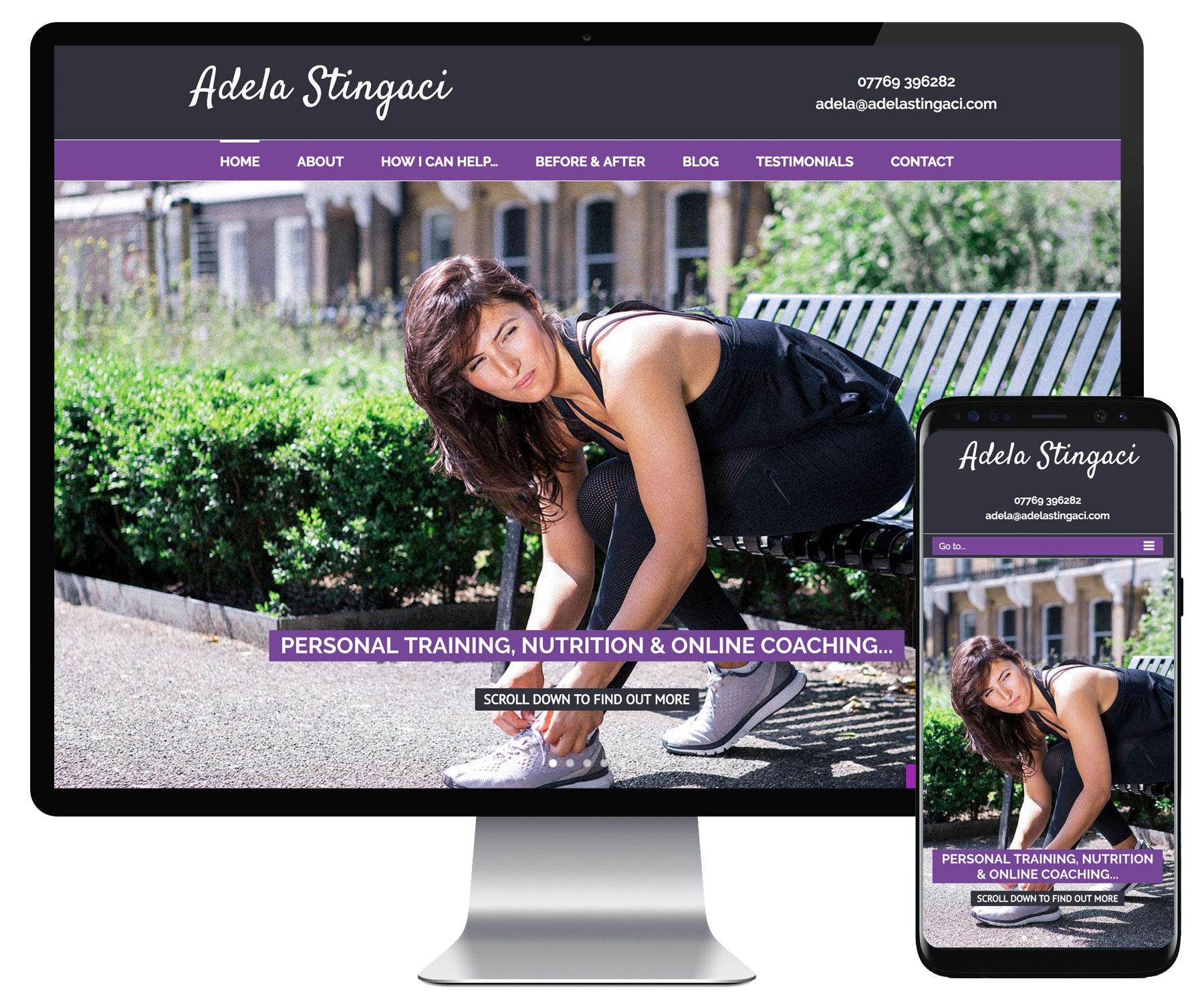 Adela Stinagci website