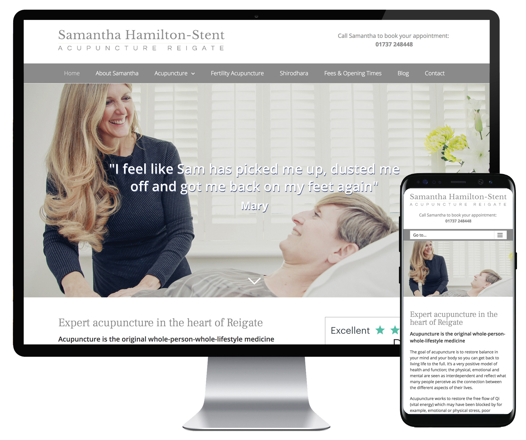 Samantha Hamilton Stent website