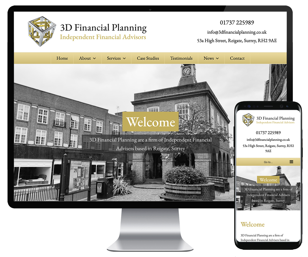 3D Financial Planning website